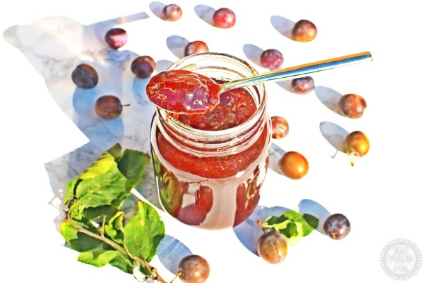 Damson Jam with my tip for pitting Damsons easily! @FabFood4All