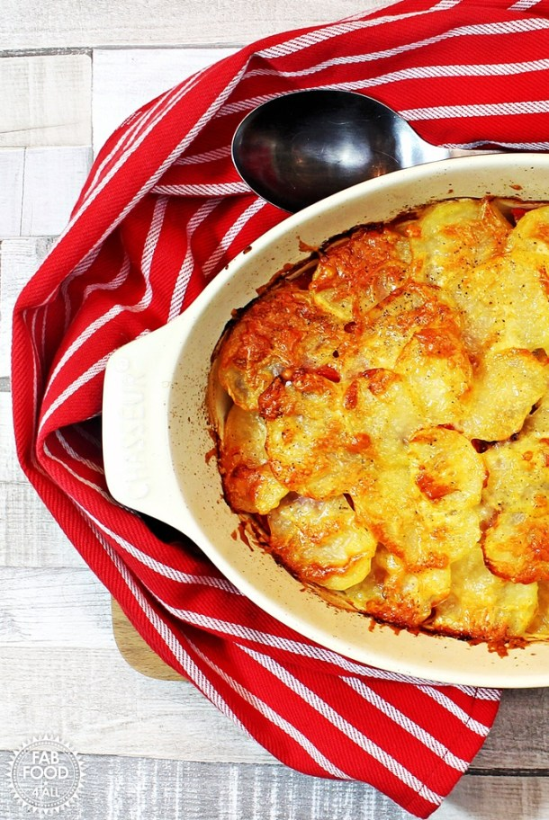 Bacon & Potato Layer Bake - Fab Food 4 All
