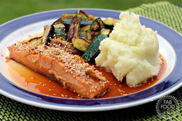 Honey Glazed Soy Salmon from Gousto