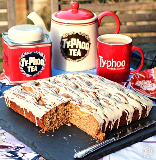 Peach, Tea & White Chocolate Traybake (40)A lr final