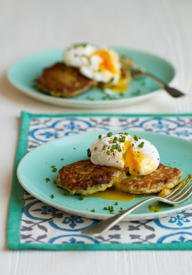 Courgette Fritters from Hungry Healthy Happy