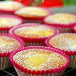Lemon & Elderflower Cupcakes - Fab Food 4 All