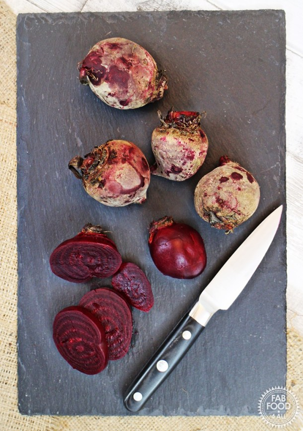 Simple Slow Cooked Beetroot - so easy! Fab Food 4 All