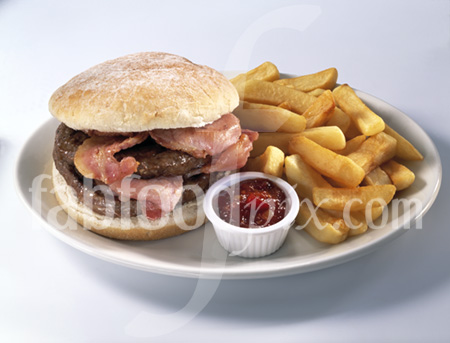 plate of so-called junk food
