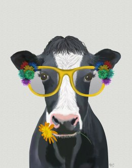 Cow and Flower Glasses