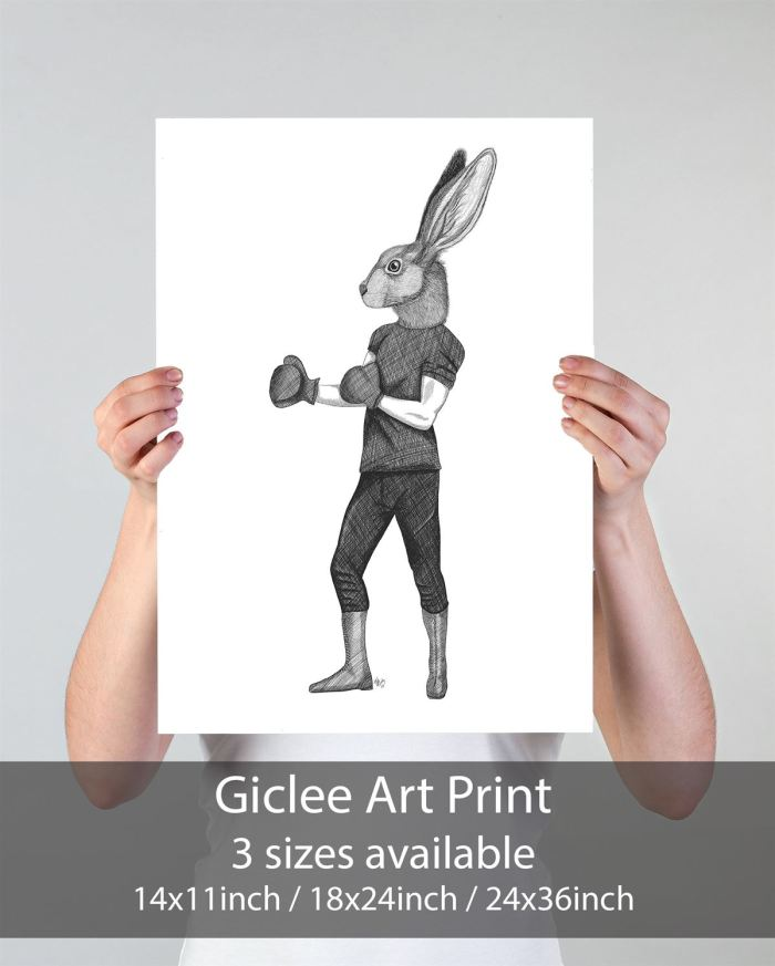 Limited Edition Print of drawing  Print 24x36inch