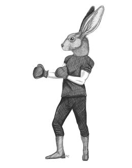 Boxing Hare 2