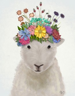 Sheep with Flower Crown 1