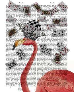 Flamingo and Cards