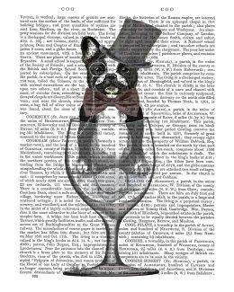 French Bulldog in Wine Glass