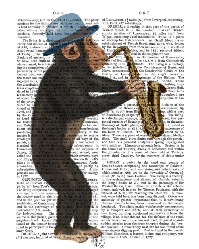 Monkey Playing Saxophone