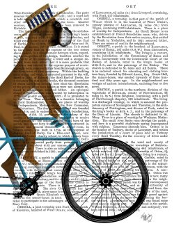 Boxer on Bicycle