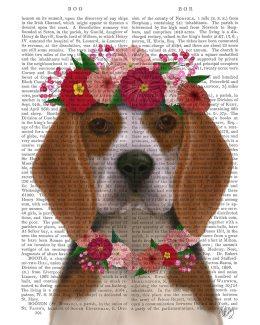 Beagle Flower Headdress