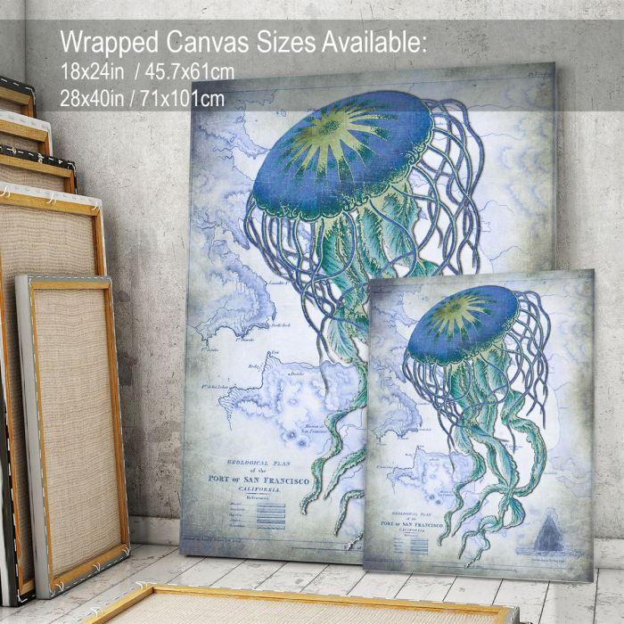 Coastal art Canvas 18x24inch