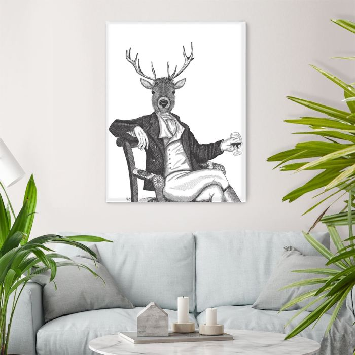 Limited Edition Print of drawing  Canvas 28x40inch