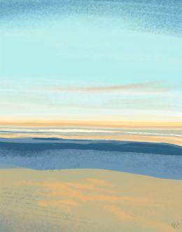 Summer Horizon 2 Art Print