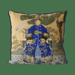 Chinese Empress 2_Blue In Garden