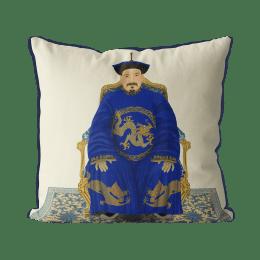 Chinese Emperor 2_Blue On Cream