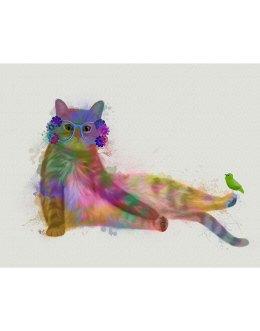 Cat Rainbow Splash 10