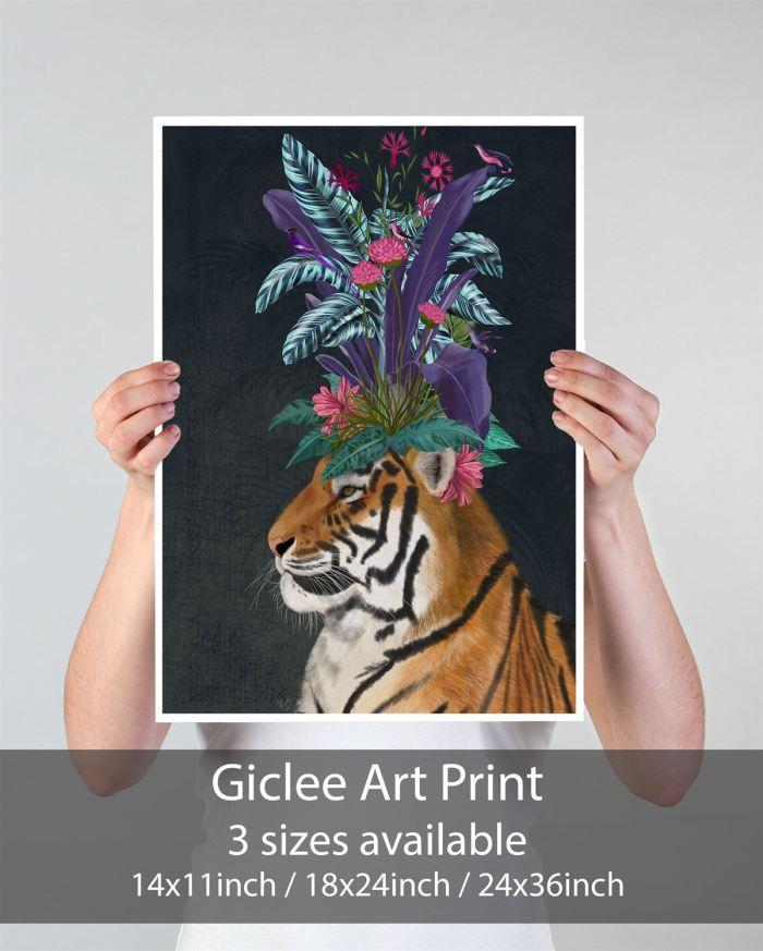 Canvas Wall Art  Print 14x11inch -