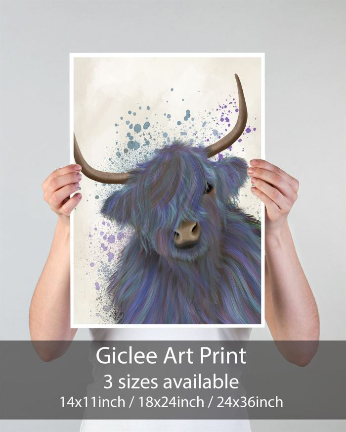Animal Art Print  Print 14x11inch -