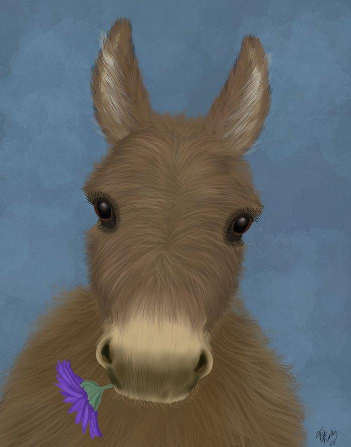 Donkey Purple Flower