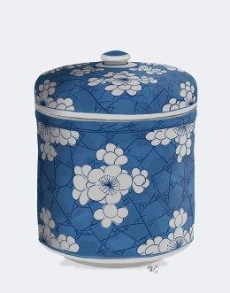 Chinoiserie Cherry Blossom Pot