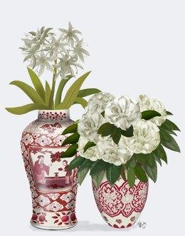 Chinoiserie Flower Duo 2