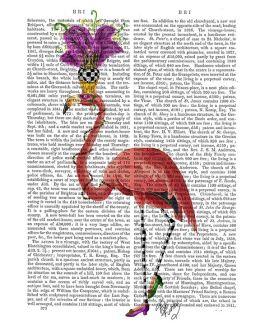 Mardi Gras Flamingo