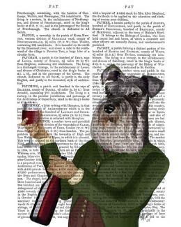 Schnauzer Wine Snob