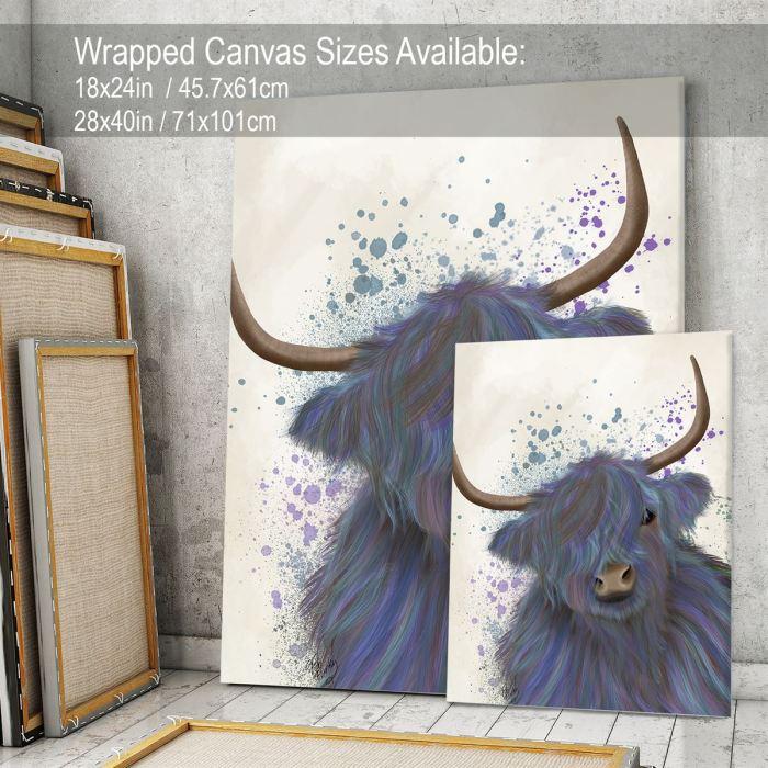 Animal Art Print  Canvas 28x40inch -