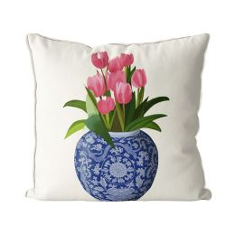 Tulips and Vase