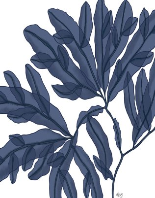 Seaweed 4 Blue Large