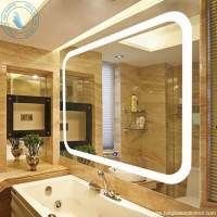 Wall Mounted High Quality LED Lighted Vanity Mirror