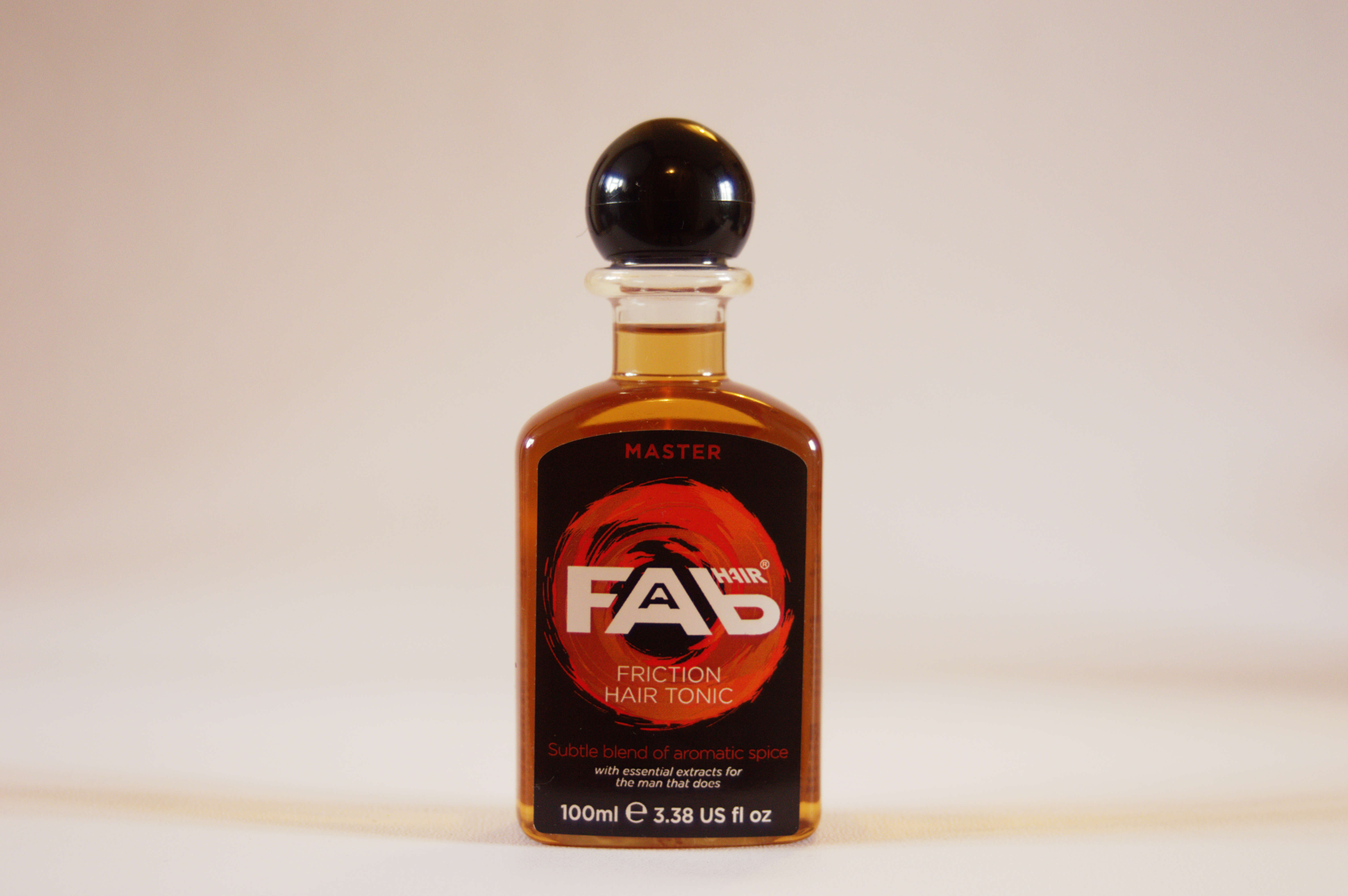 Master Friction Hair Tonic by FAB Front View