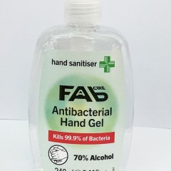 FAB Care Antibacterial Hand Gel – Hand Sanitizer (240ml)