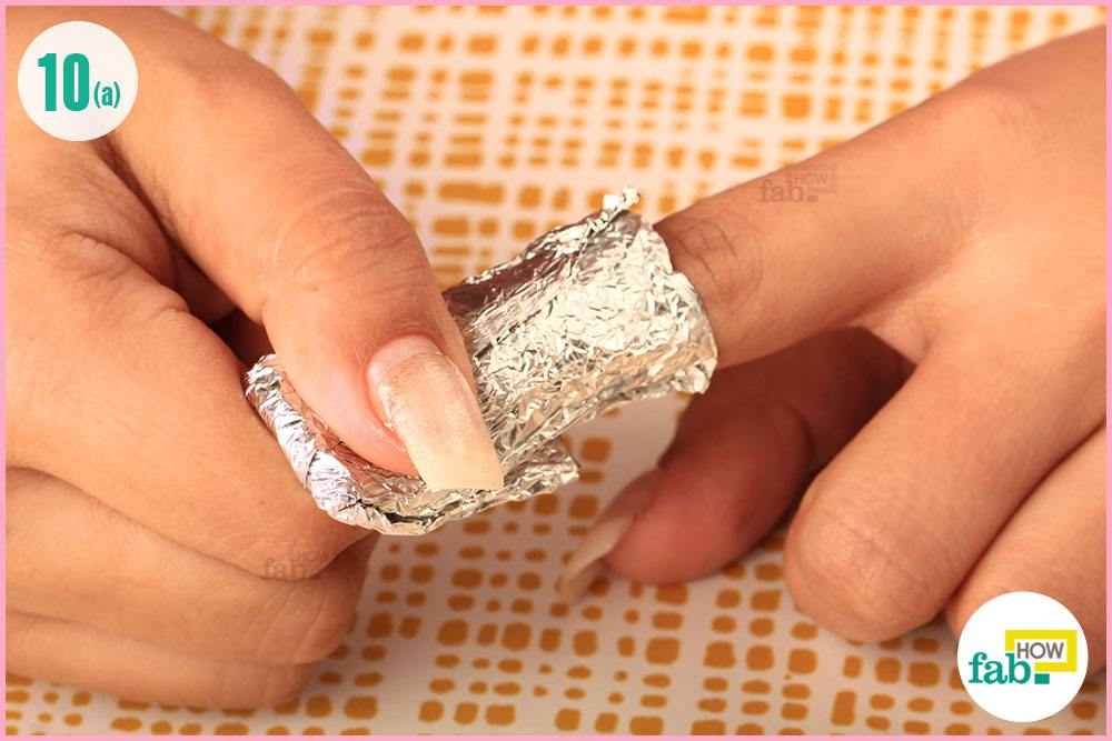 Take The Foil Casing Off Your Nails
