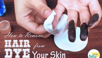 How to remove spray paint from your skin fab how how to remove hair dye from your skin urmus Images