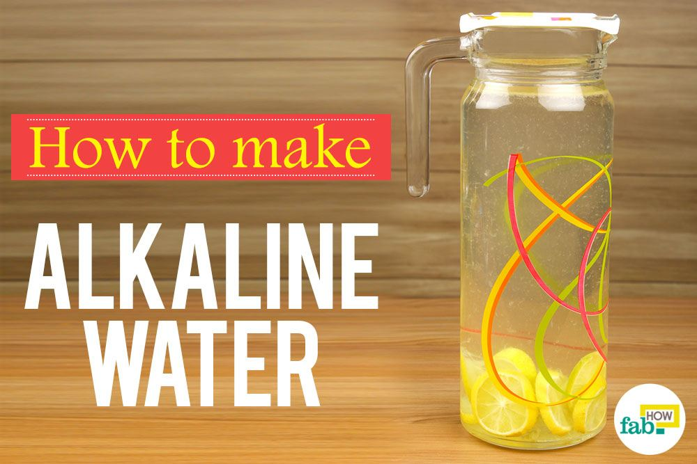 How to Correctly Make Alkaline Water  Fab How