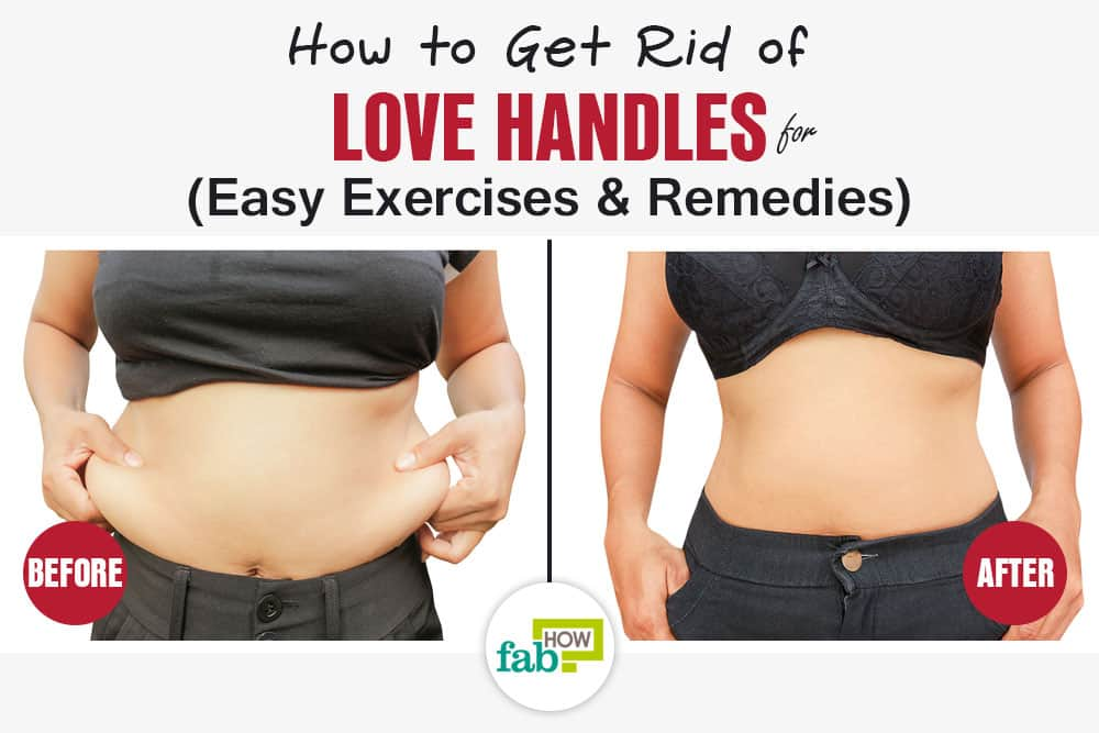 How to Get Rid of Love Handles Fast Easy Exercises and