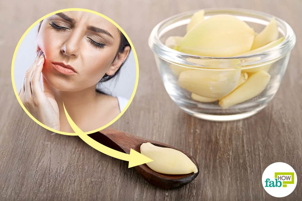 How to Use Garlic for Tooth Abscess Gum Infection and