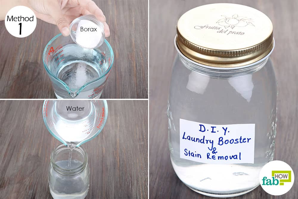 How to Use Borax for Cleaning Laundry Stain Removal and ...