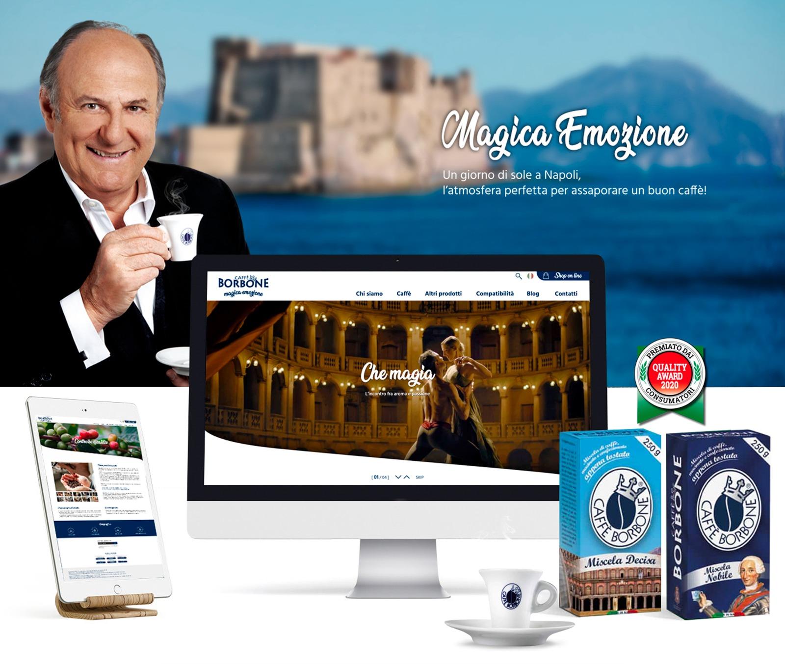 sito-caffè-borbone-web-design