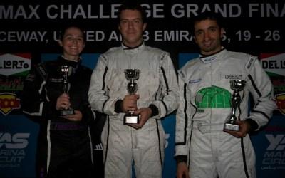 Fabienne takes a podium at Al Ain Raceway DD2 Rotax Challenge in UAE