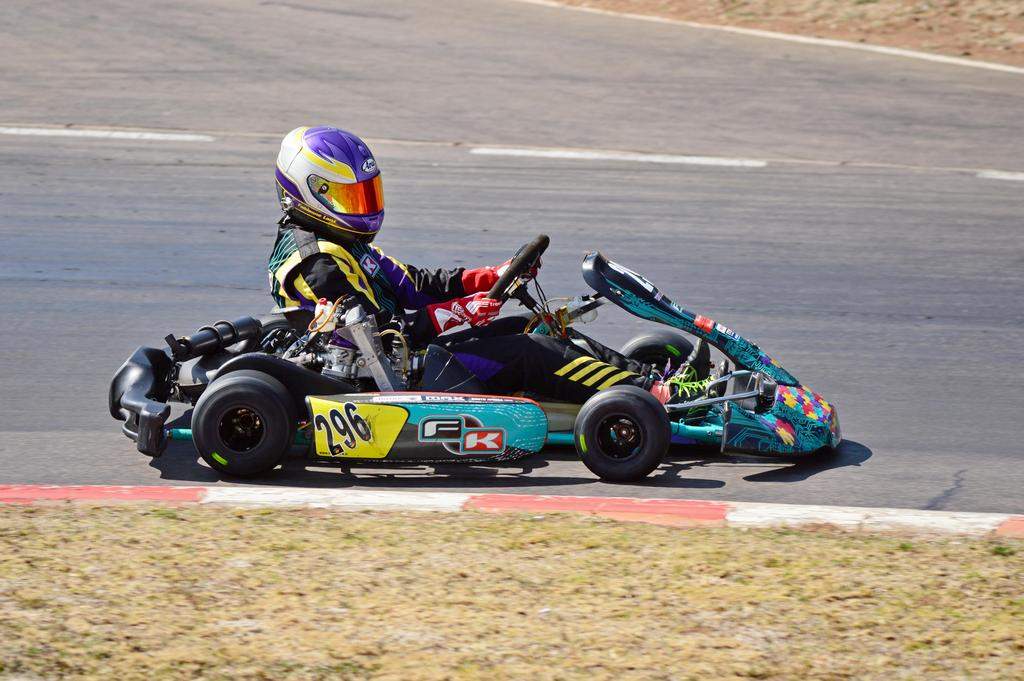 Fabienne takes historic double wins in Rotax Senior Max and