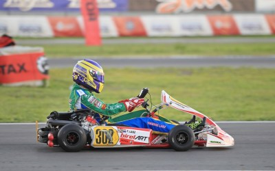 Promising effort goes unrewarded for Fabienne at Rotax Grand Finals