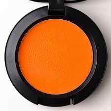 orange blusher