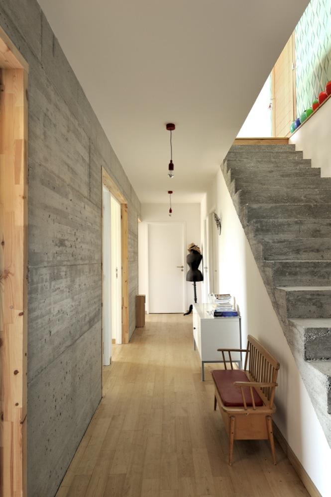 maison contemporaine btonbois  Rochetoirin  Fabien Perret Architecte Lyon