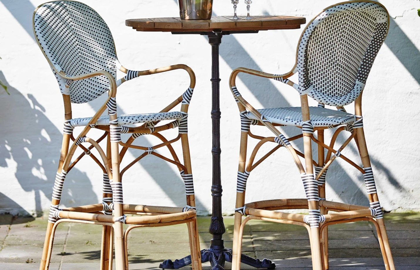 Isabell Rattan Bar Stool By Sika Design Fabiia Com