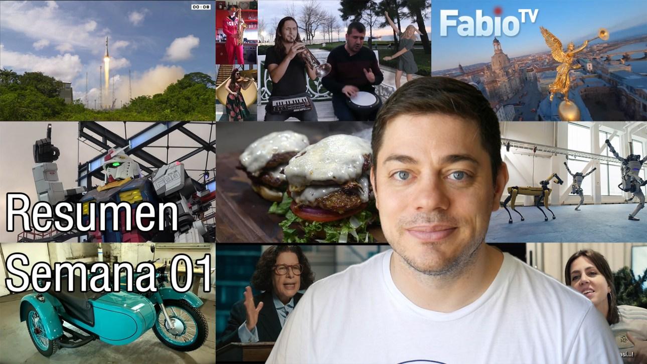 FabioTV - Resumen Semana 01 - 2021